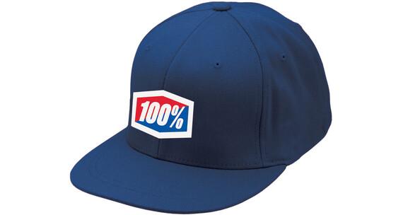 100% Essential hoofddeksel blauw